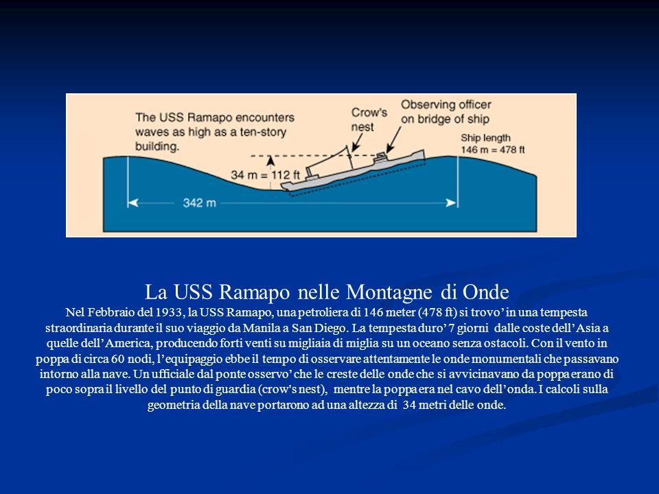 La USS Ramapo nelle Montagne di Onde
