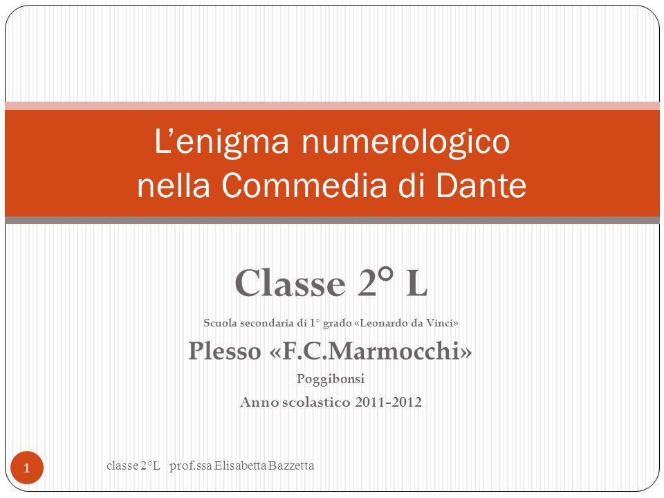 L'enigma numerologico nella Commedia di Dante