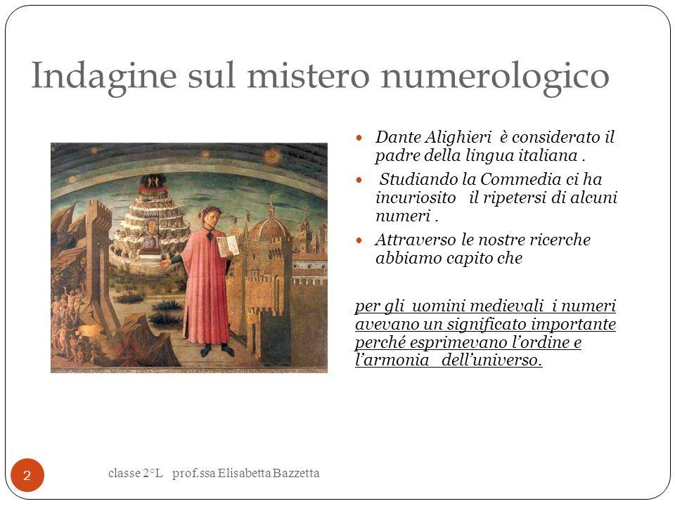Indagine sul mistero numerologico