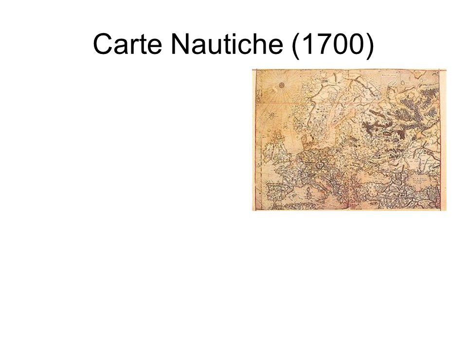 Carte Nautiche (1700)