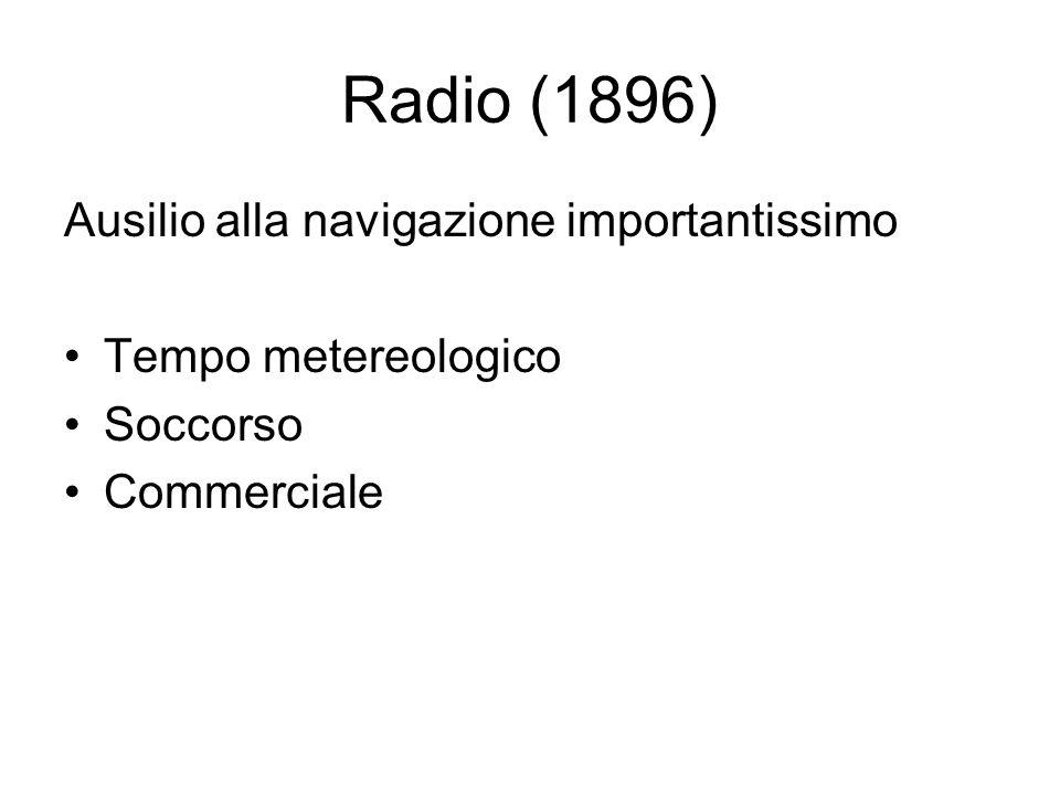 Radio (1896) Ausilio alla navigazione importantissimo