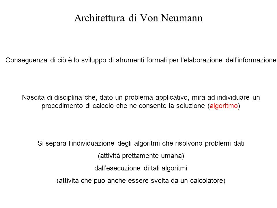 Architettura di Von Neumann