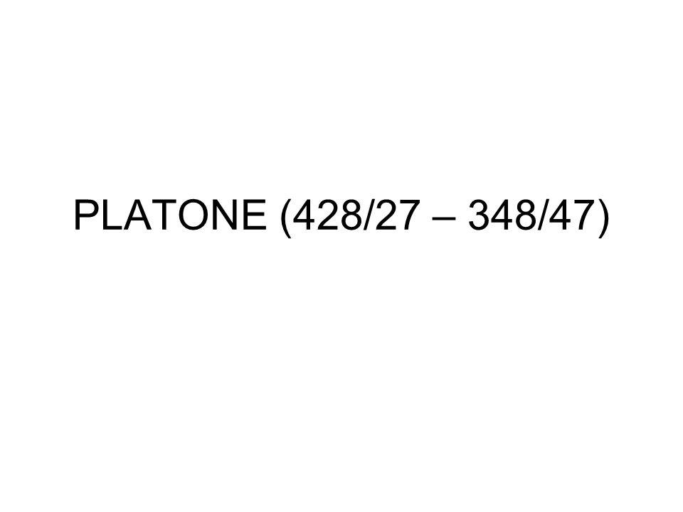 PLATONE (428/27 – 348/47)