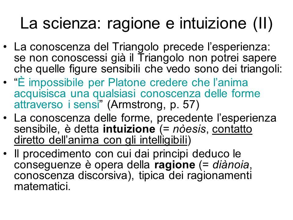 La scienza: ragione e intuizione (II)