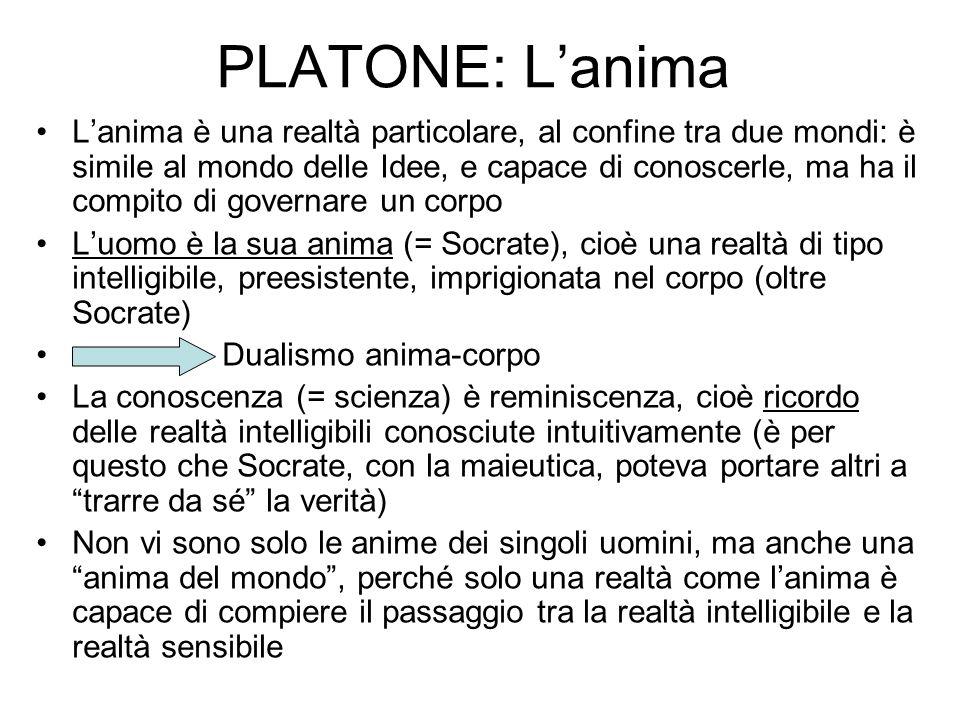 PLATONE: L'anima