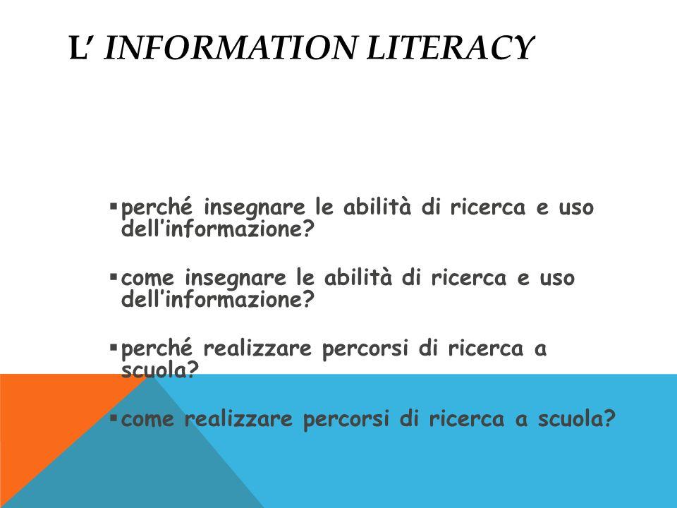 L' information literacy