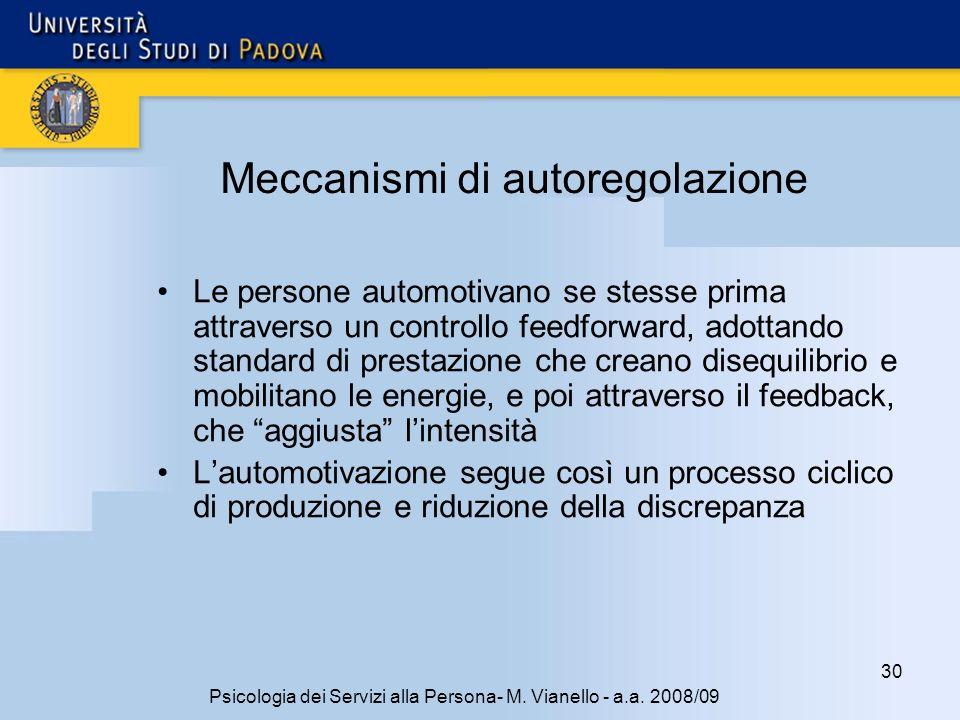 Meccanismi di autoregolazione