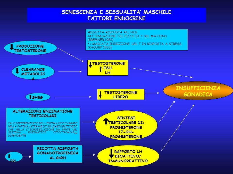 SENESCENZA E SESSUALITA' MASCHILE