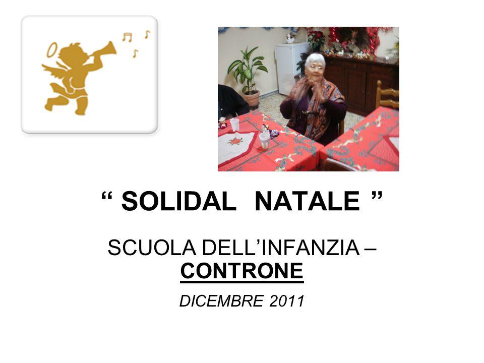 SCUOLA DELL'INFANZIA –CONTRONE DICEMBRE 2011