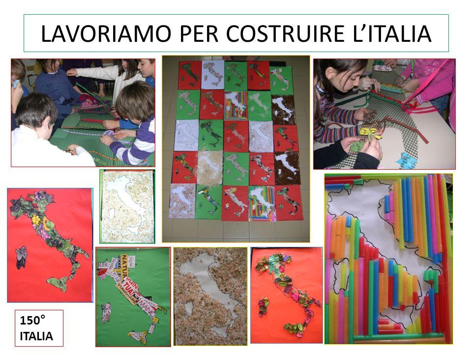 LAVORIAMO PER COSTRUIRE L'ITALIA
