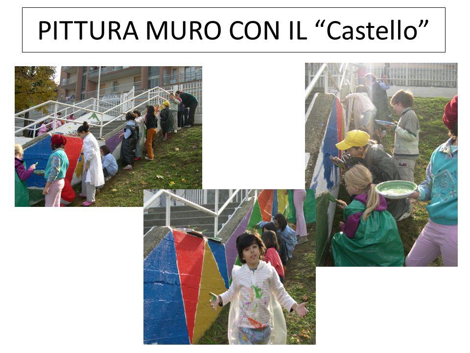 PITTURA MURO CON IL Castello