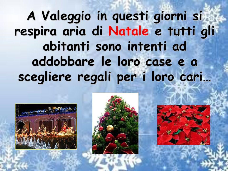 A Valeggio in questi giorni si respira aria di Natale e tutti gli abitanti sono intenti ad addobbare le loro case e a scegliere regali per i loro cari…