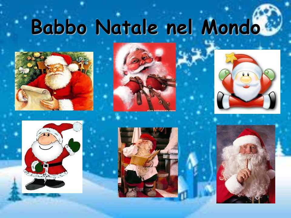 Babbo Natale nel Mondo