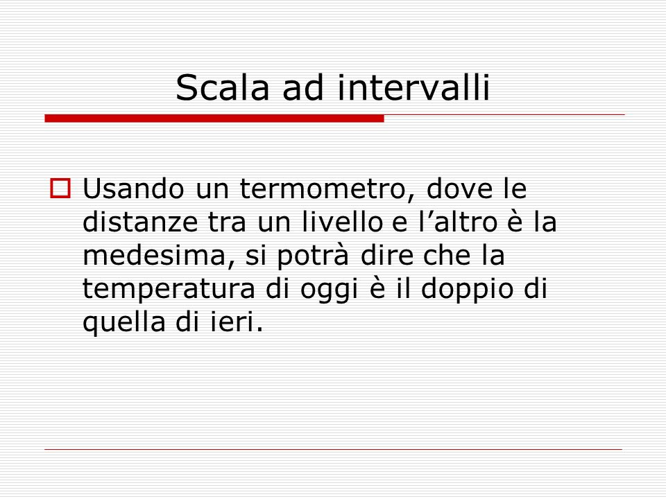 Scala ad intervalli