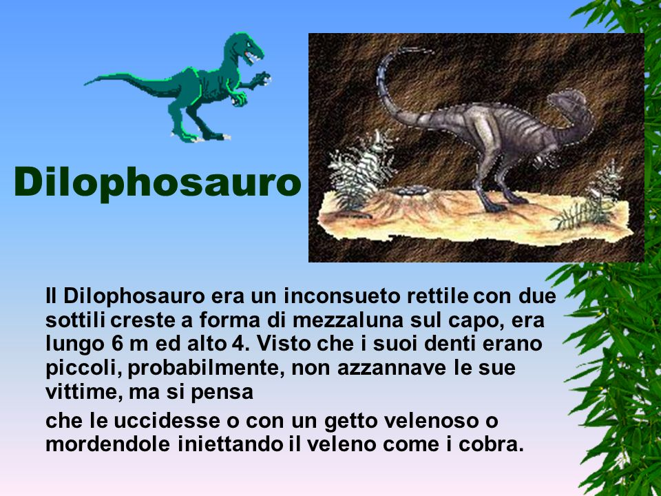 Dilophosauro