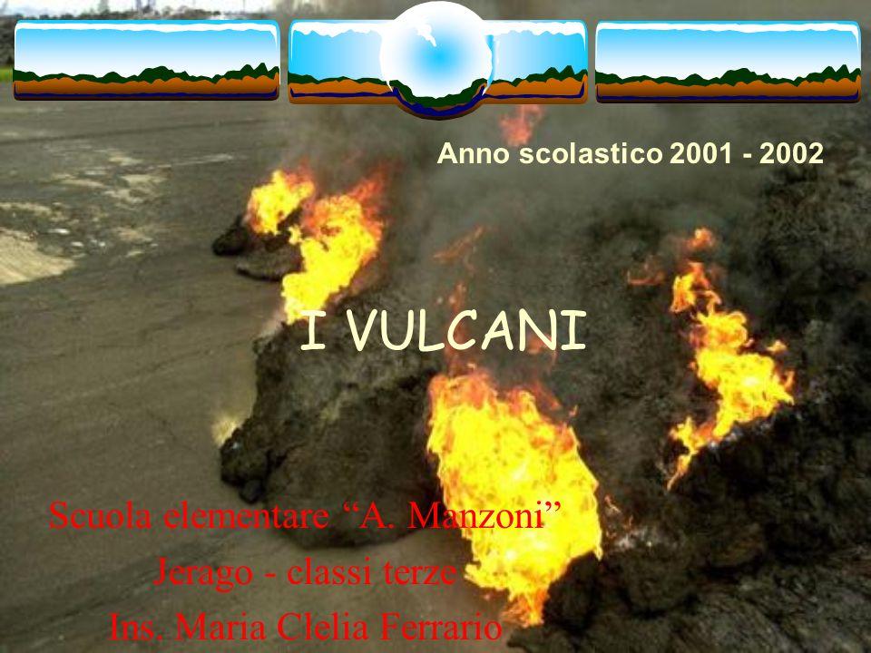 I VULCANI Scuola elementare A. Manzoni Jerago - classi terze