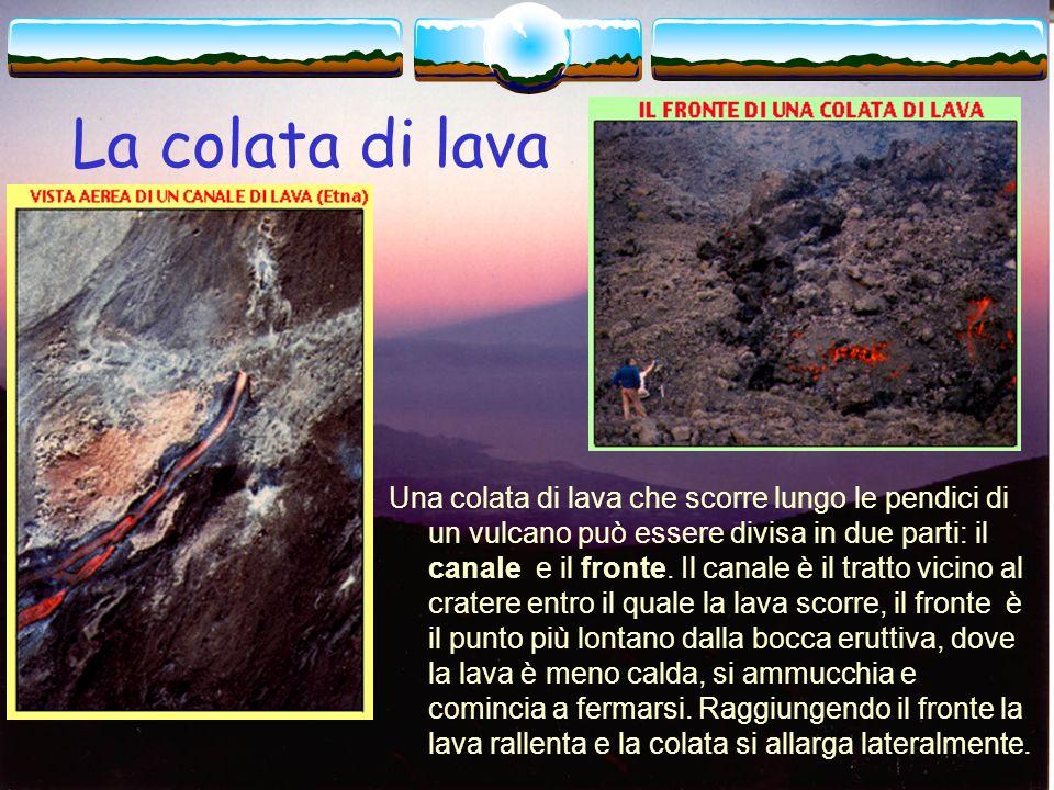 La colata di lava