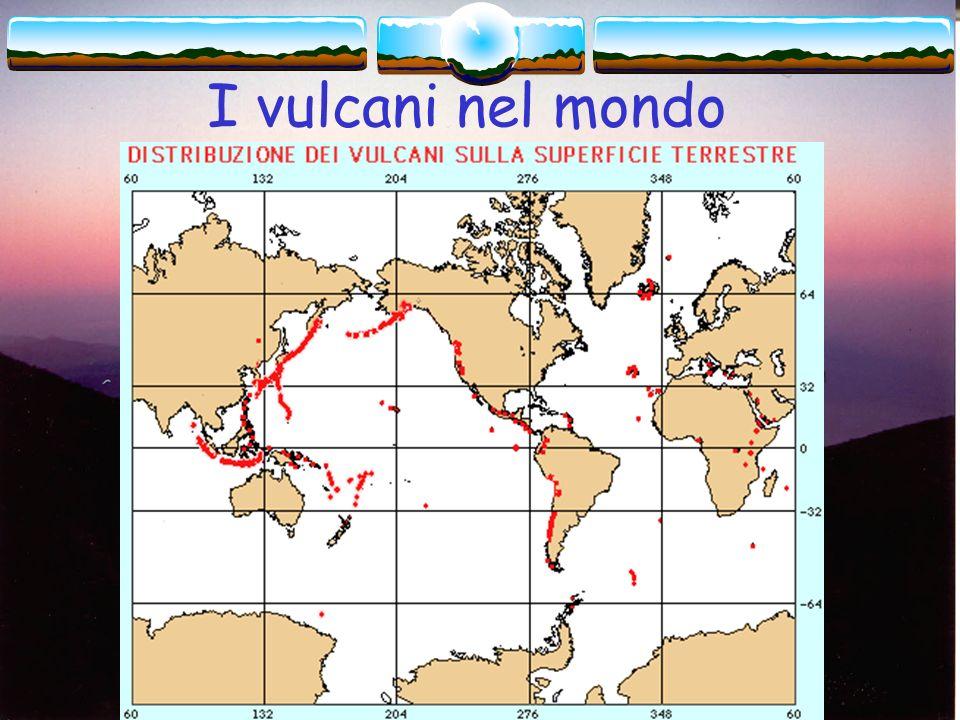 I vulcani nel mondo