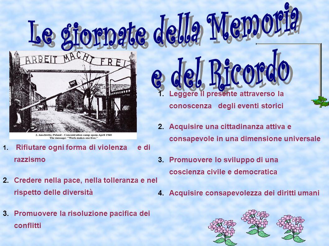 Le giornate della Memoria