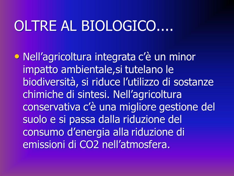 OLTRE AL BIOLOGICO....