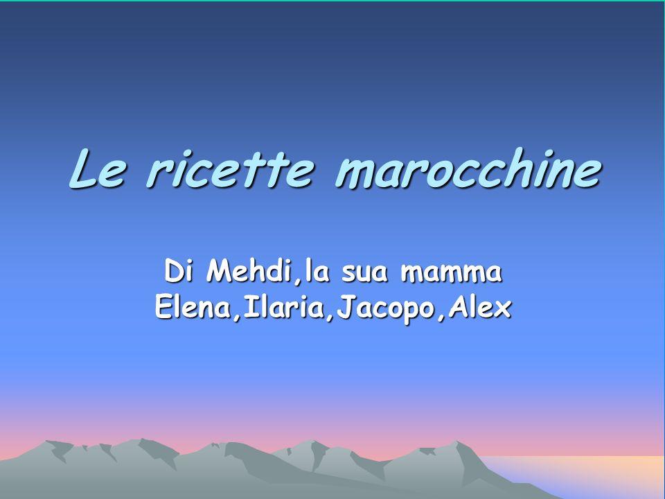 Di Mehdi,la sua mamma Elena,Ilaria,Jacopo,Alex