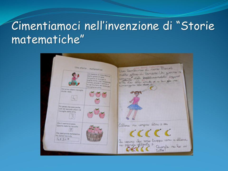 Cimentiamoci nell'invenzione di Storie matematiche