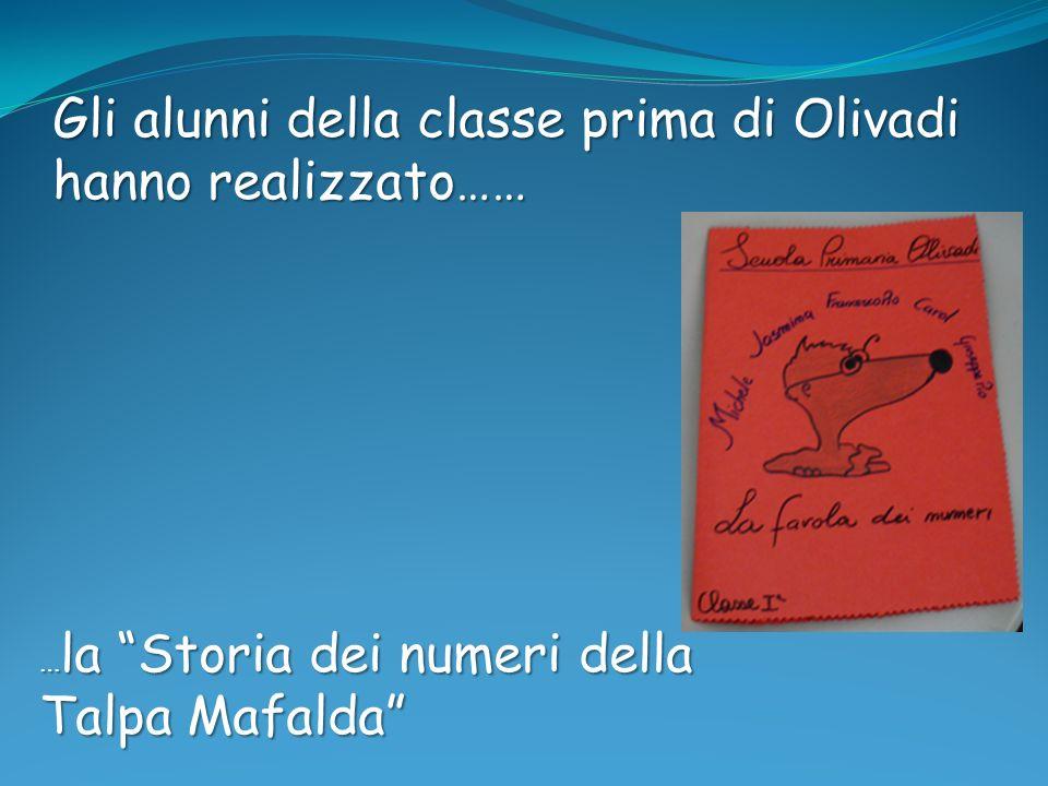 Gli alunni della classe prima di Olivadi hanno realizzato……