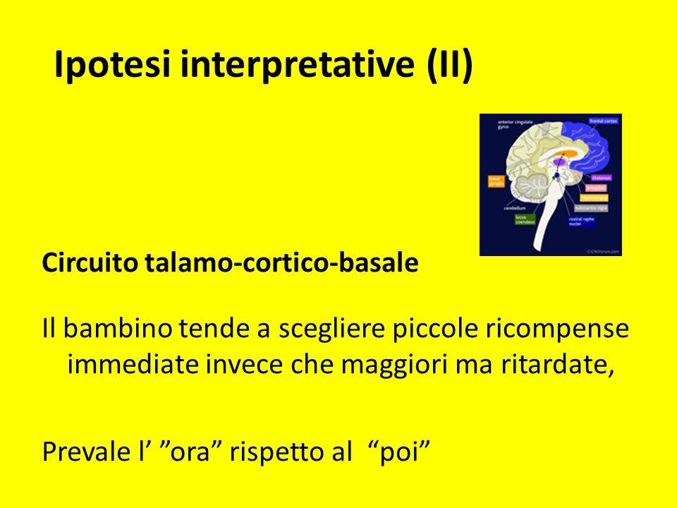 Ipotesi interpretative (II)