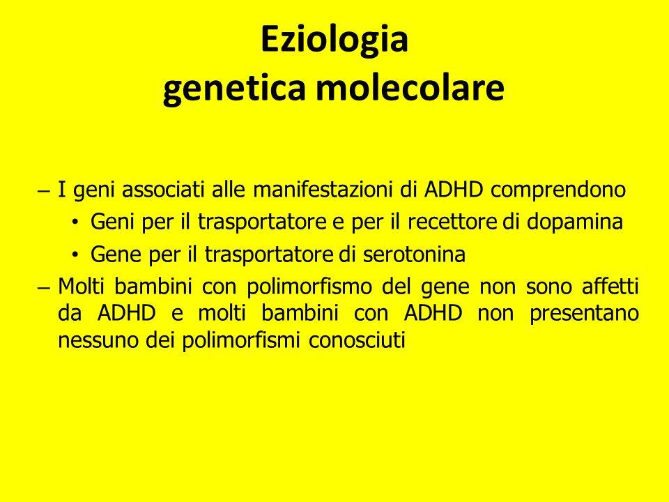 Eziologia genetica molecolare