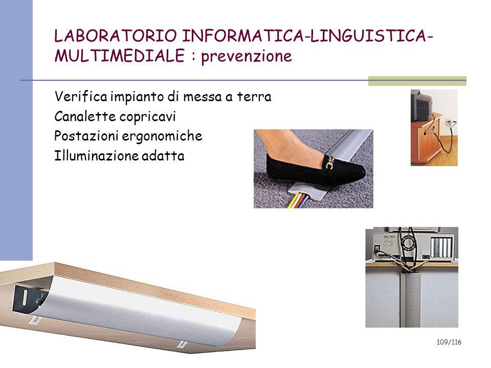 LABORATORIO INFORMATICA-LINGUISTICA-MULTIMEDIALE : prevenzione