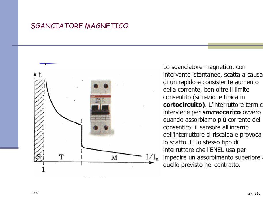 SGANCIATORE MAGNETICO