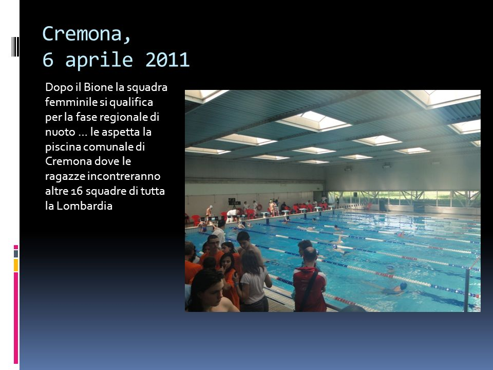 Cremona, 6 aprile 2011
