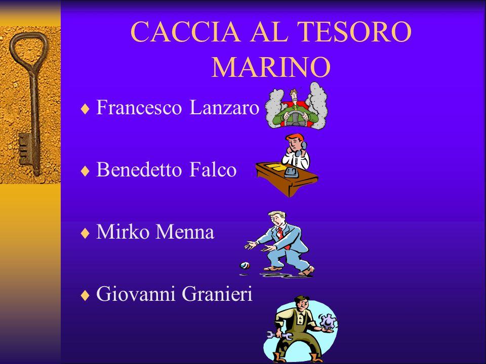 CACCIA AL TESORO MARINO