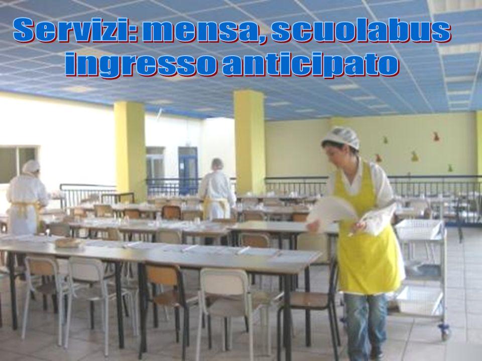 Servizi: mensa, scuolabus