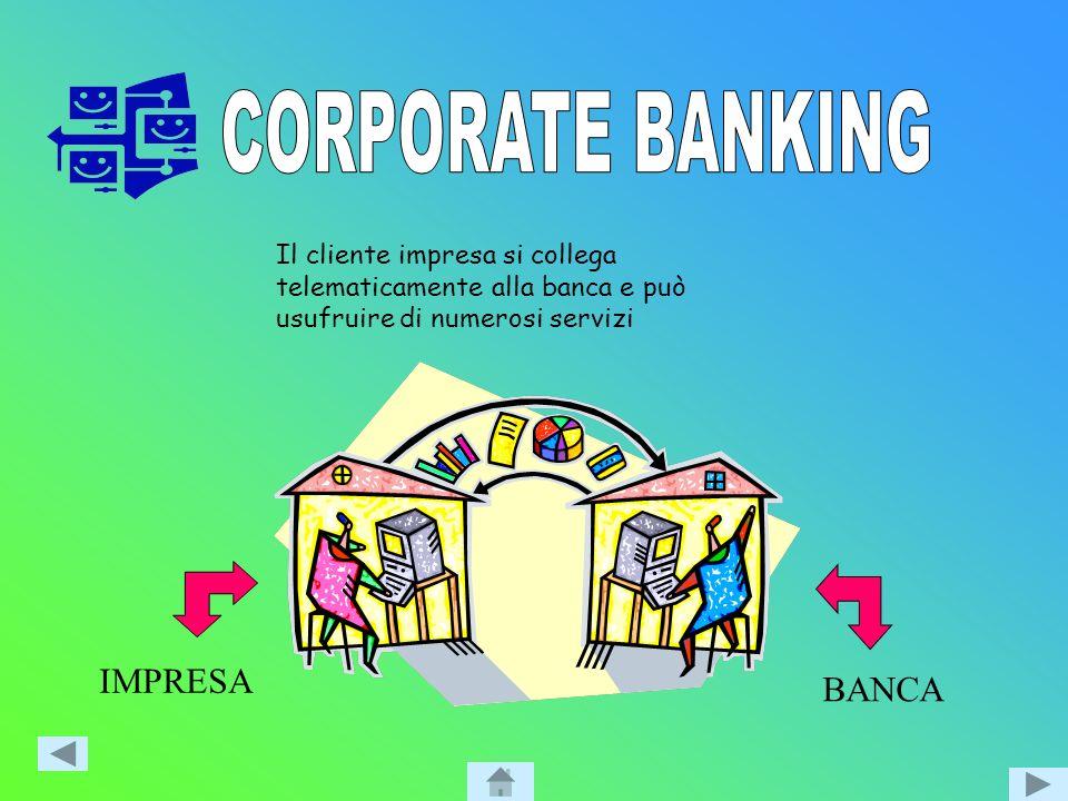 CORPORATE BANKING IMPRESA BANCA