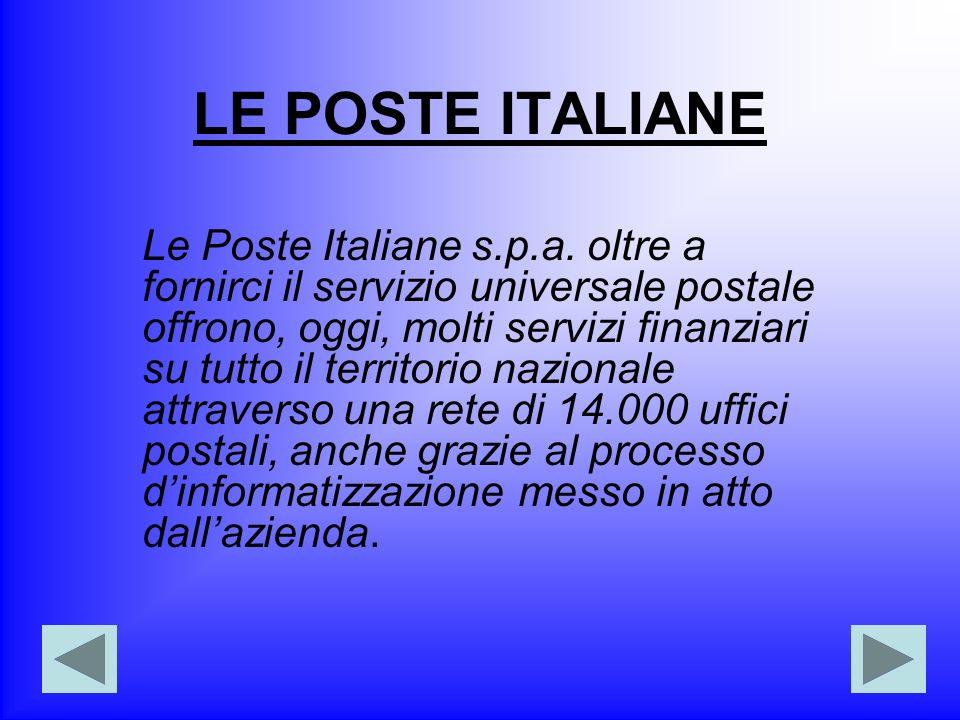 LE POSTE ITALIANE