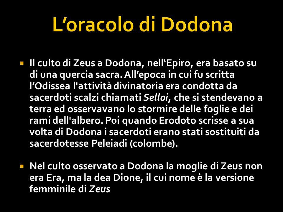 L'oracolo di Dodona