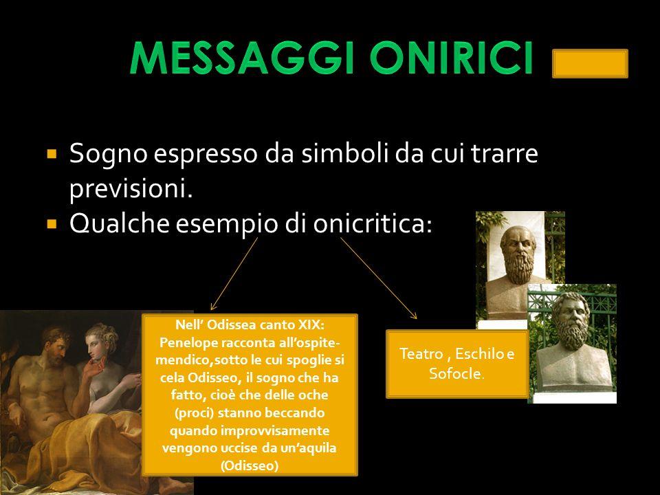 Nell' Odissea canto XIX: