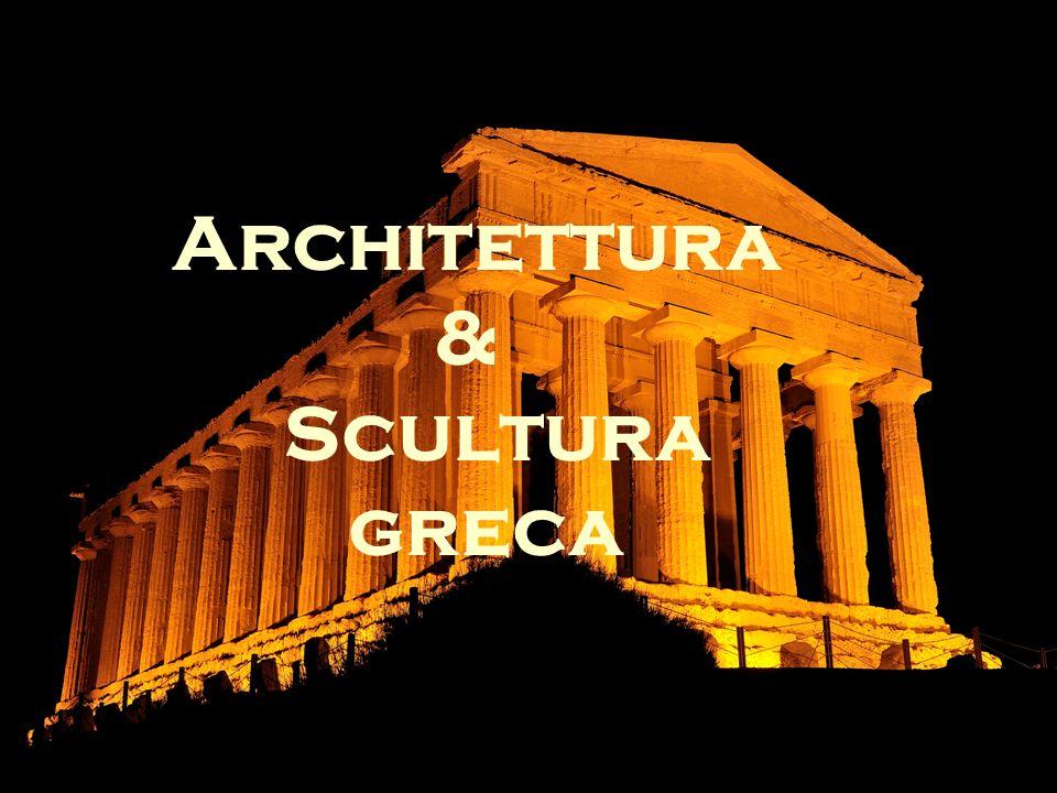 Architettura & Scultura greca