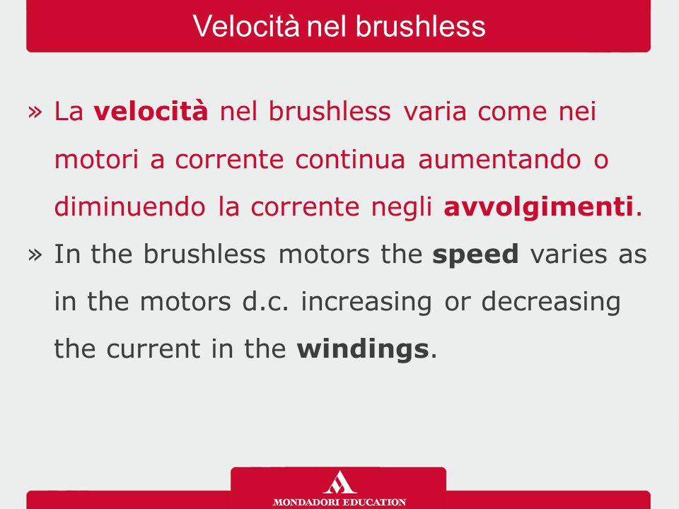 Velocità nel brushless