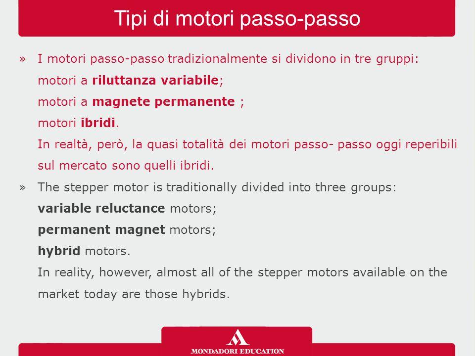 Tipi di motori passo-passo