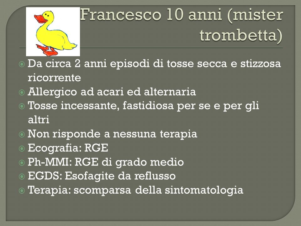 Francesco 10 anni (mister trombetta)