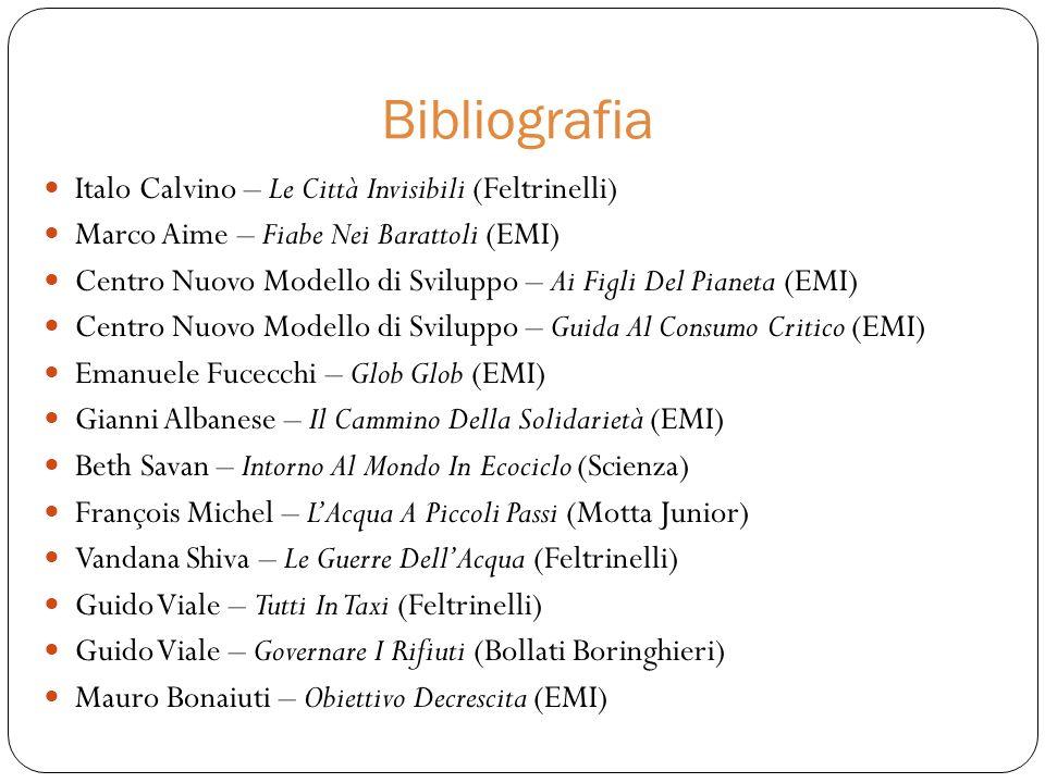 Bibliografia Italo Calvino – Le Città Invisibili (Feltrinelli)