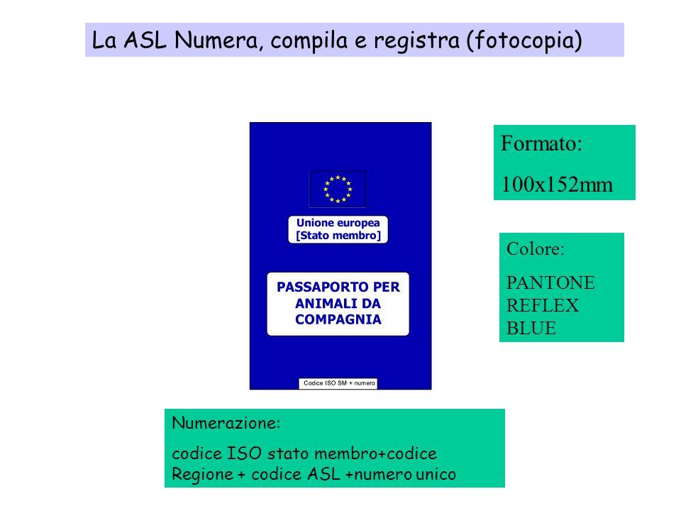 La ASL Numera, compila e registra (fotocopia)