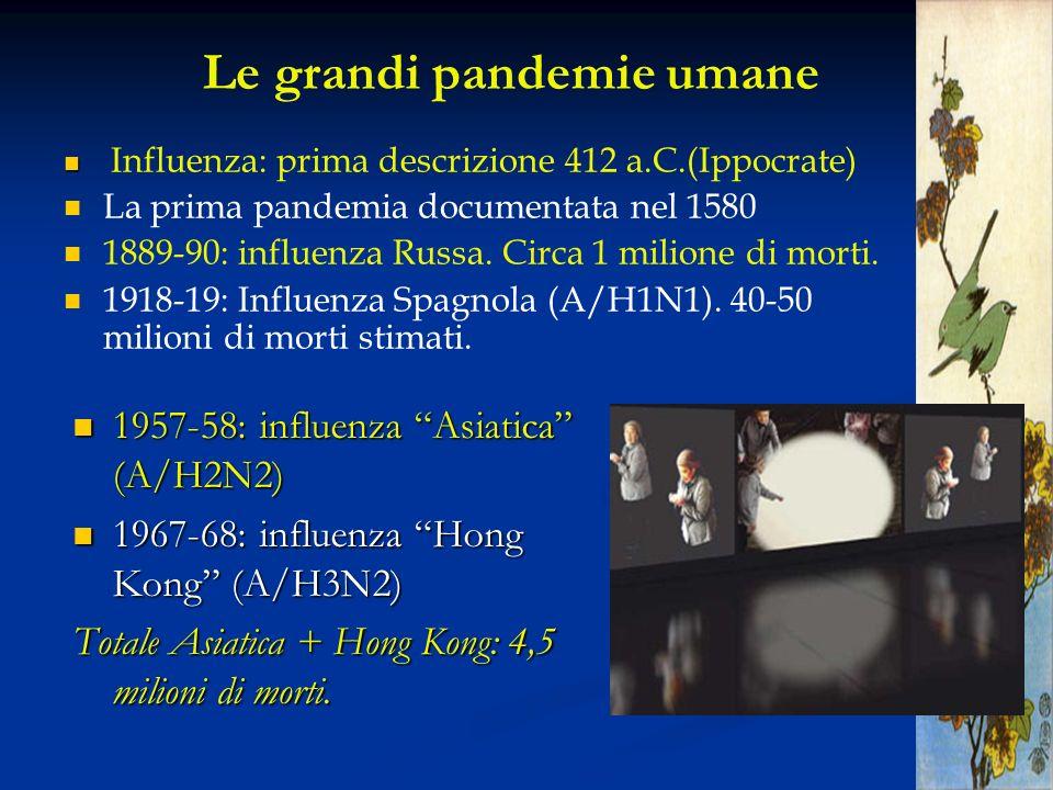 Le grandi pandemie umane