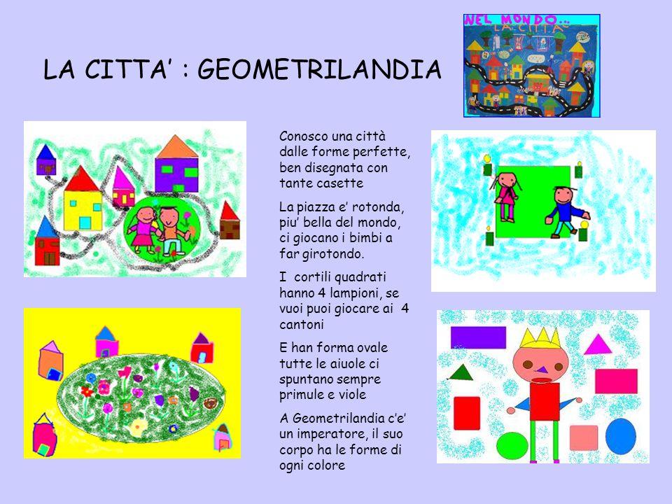 LA CITTA' : GEOMETRILANDIA