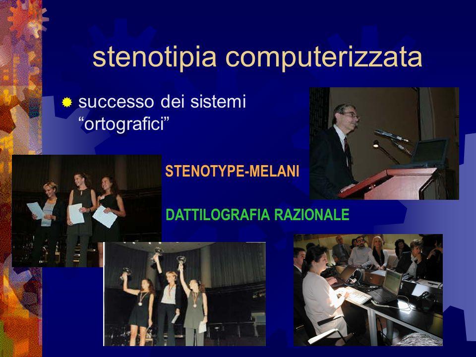 stenotipia computerizzata