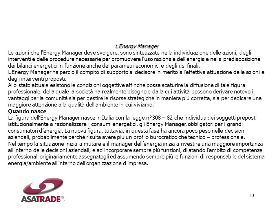 L Energy Manager
