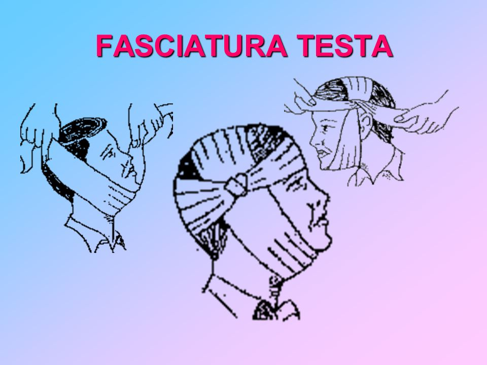 FASCIATURA TESTA
