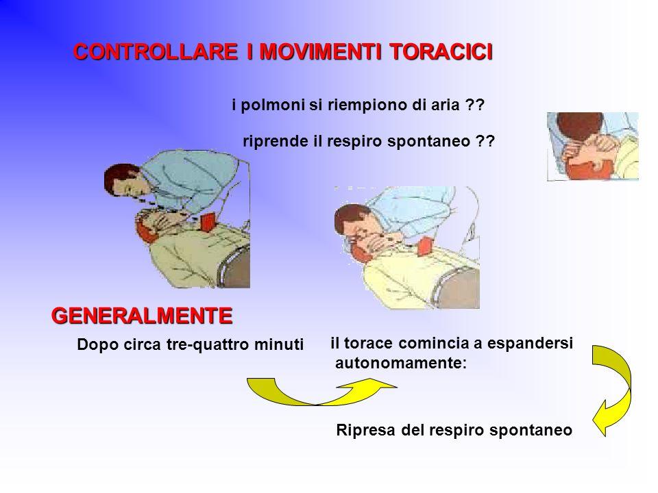CONTROLLARE I MOVIMENTI TORACICI